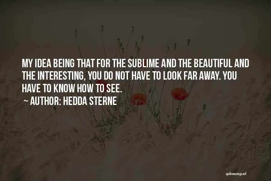 Hedda Sterne Quotes 2055683