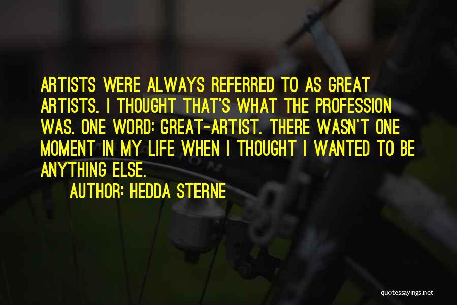 Hedda Sterne Quotes 82236