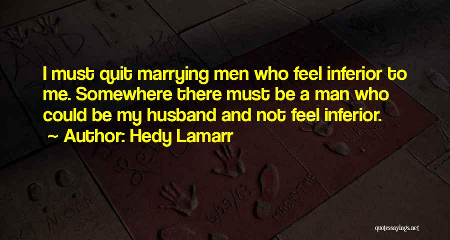 Hedy Lamarr Quotes 115652