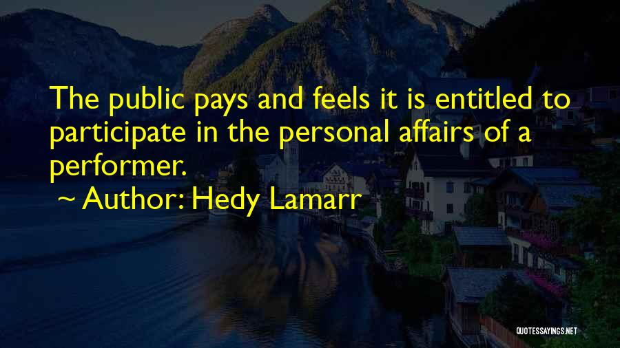 Hedy Lamarr Quotes 1455648