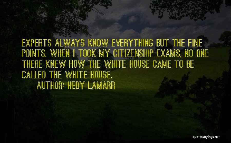 Hedy Lamarr Quotes 292728
