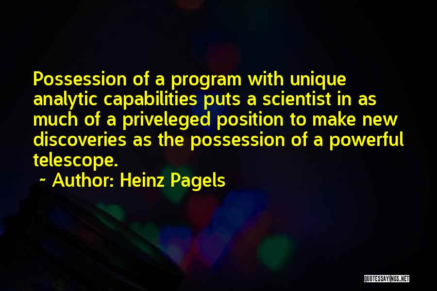 Heinz Pagels Quotes 1186074