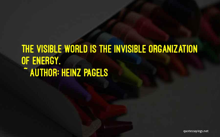Heinz Pagels Quotes 1587788