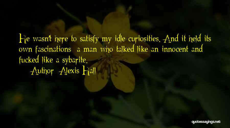 Held Quotes By Alexis Hall
