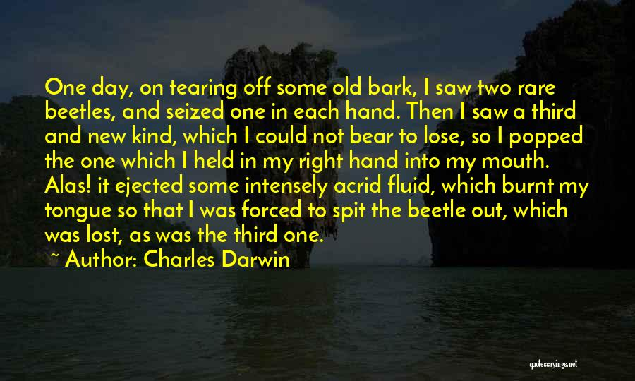 Held Quotes By Charles Darwin