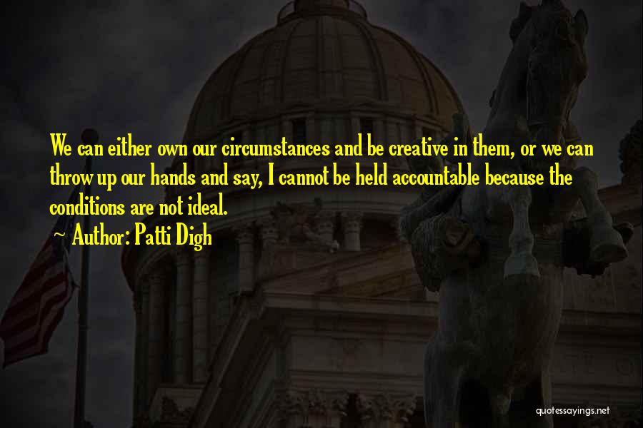 Held Quotes By Patti Digh
