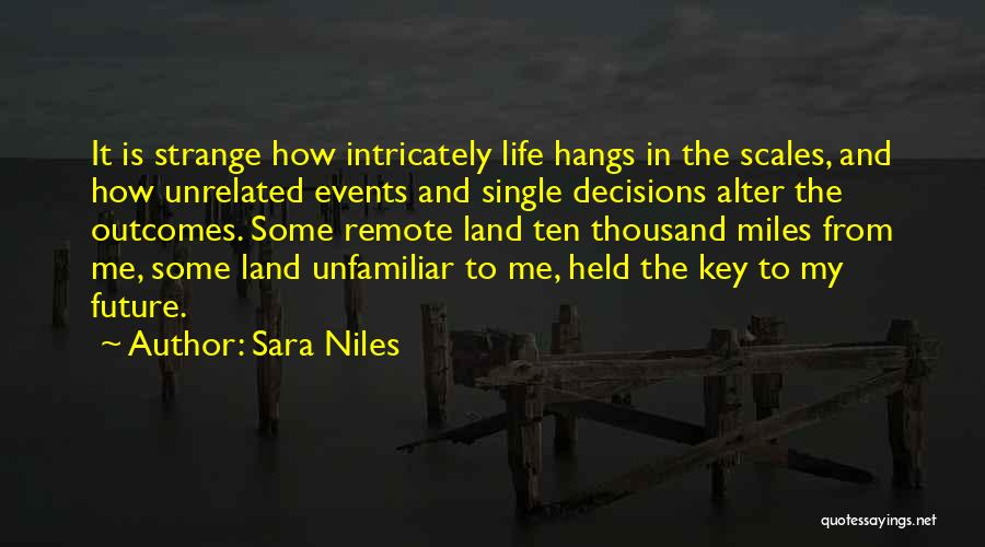 Held Quotes By Sara Niles