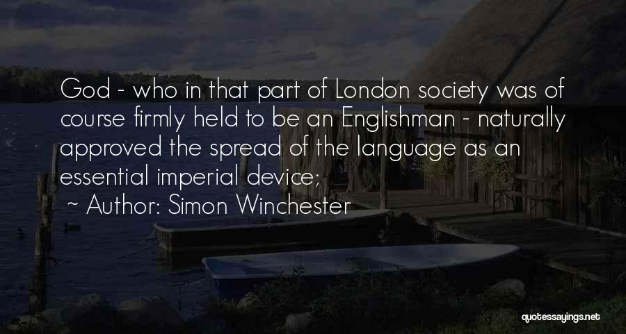 Held Quotes By Simon Winchester