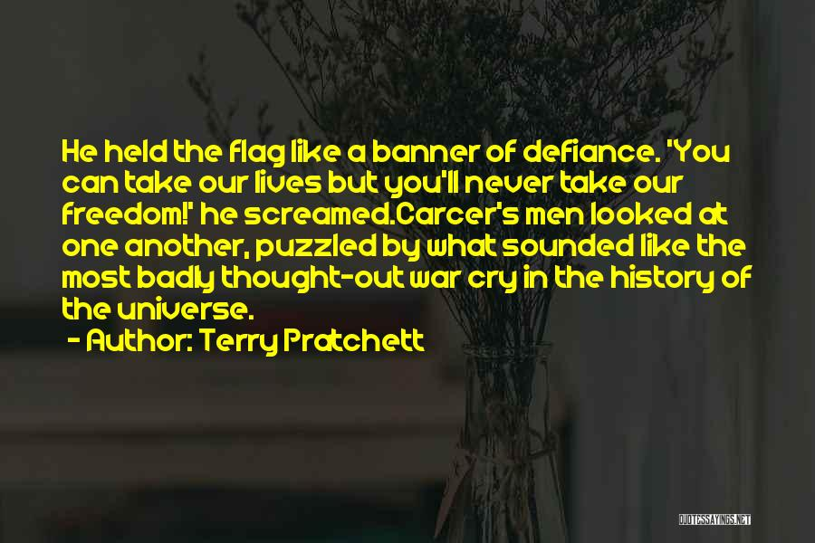 Held Quotes By Terry Pratchett