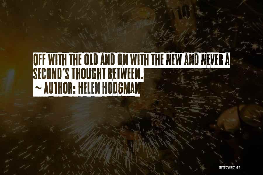 Helen Hodgman Quotes 1855534