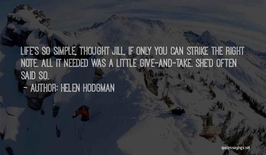 Helen Hodgman Quotes 1858110
