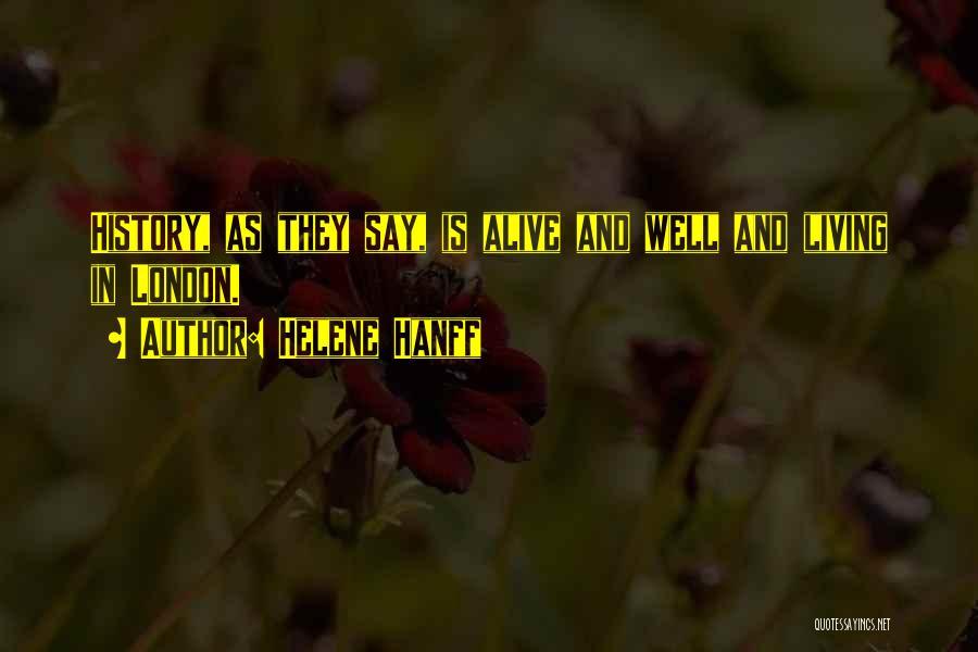 Helene Hanff Quotes 1840251
