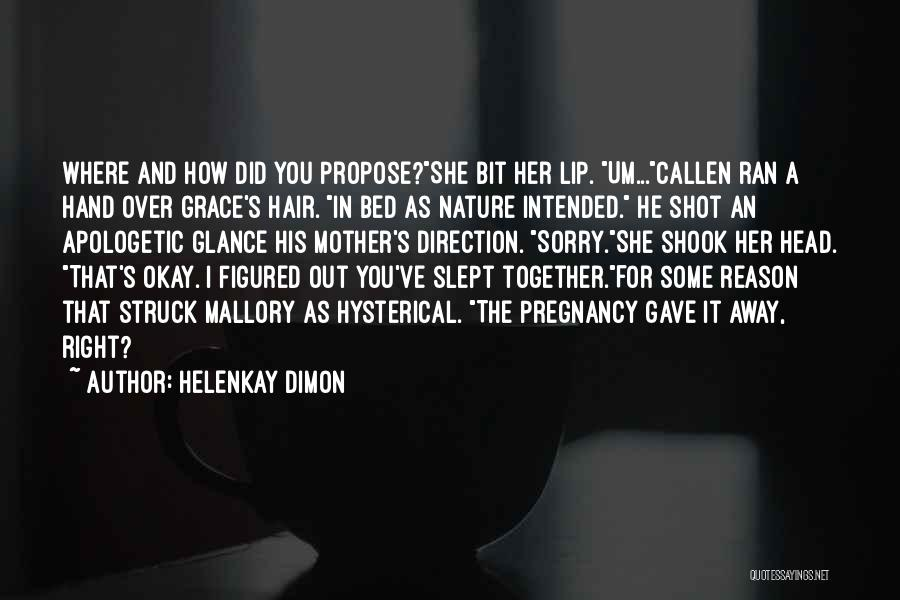 HelenKay Dimon Quotes 1778623