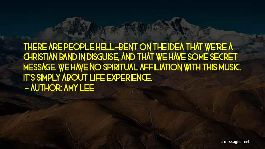 Hell Bent Quotes By Amy Lee