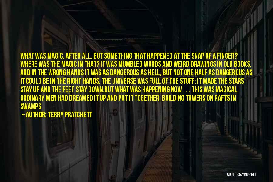 Hell Bent Quotes By Terry Pratchett