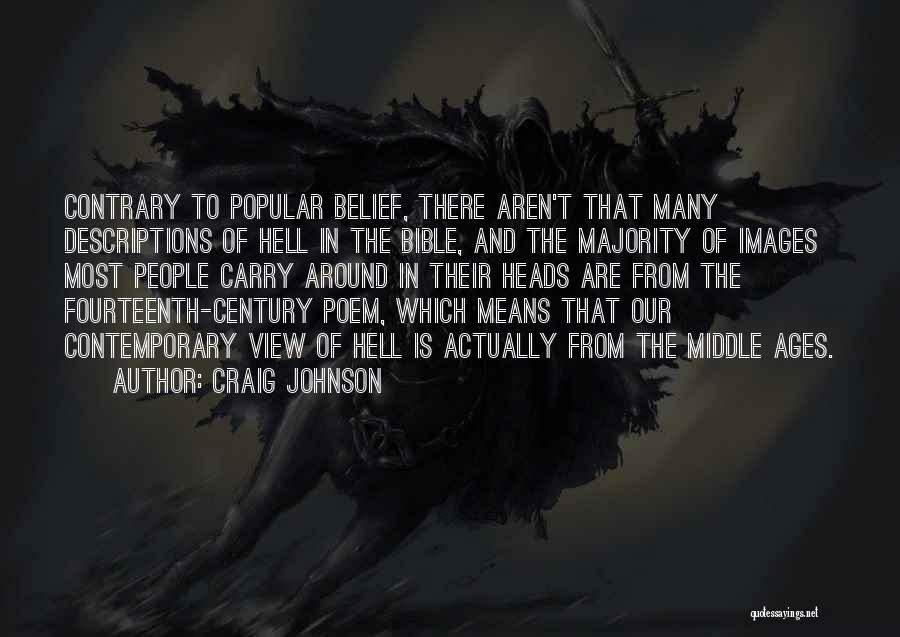 Hell Bible Quotes By Craig Johnson