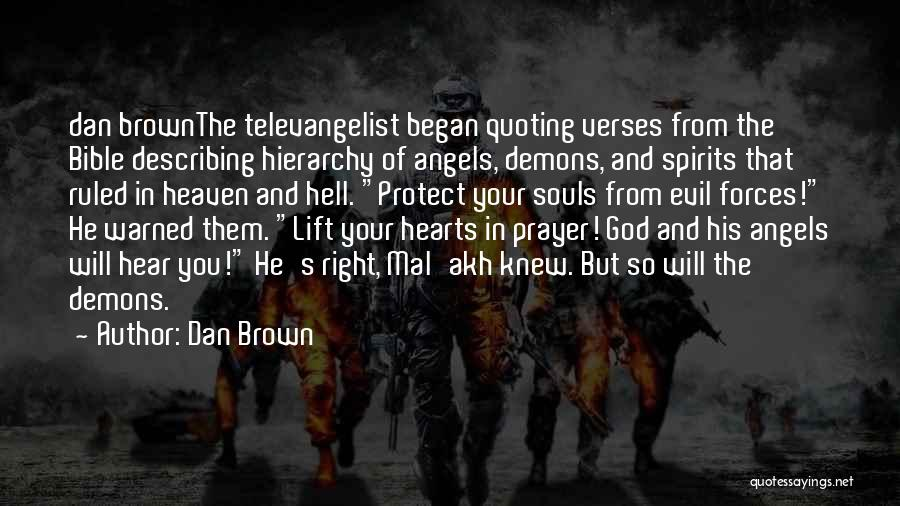 Hell Bible Quotes By Dan Brown