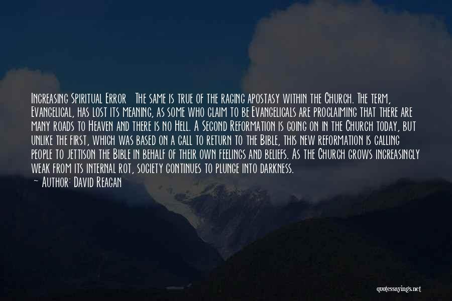 Hell Bible Quotes By David Reagan