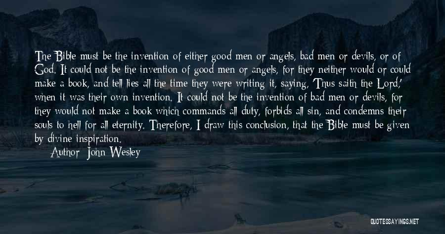 Hell Bible Quotes By John Wesley