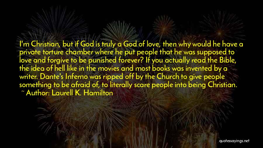 Hell Bible Quotes By Laurell K. Hamilton