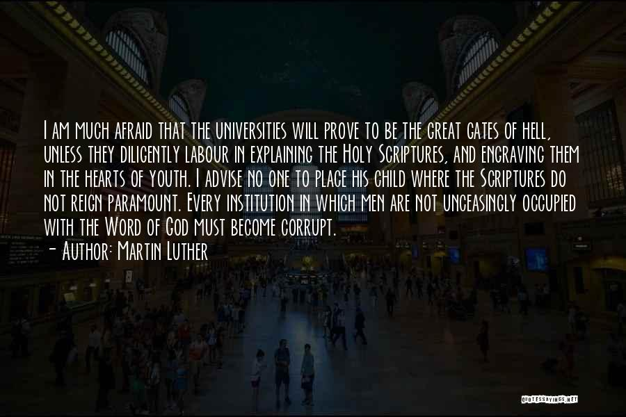 Hell Bible Quotes By Martin Luther
