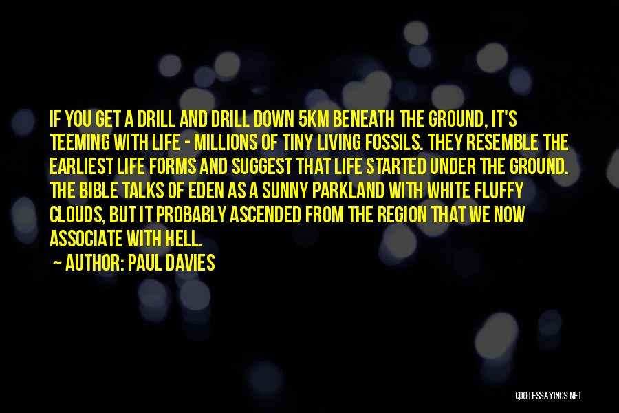 Hell Bible Quotes By Paul Davies