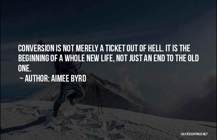 Hell Is Quotes By Aimee Byrd