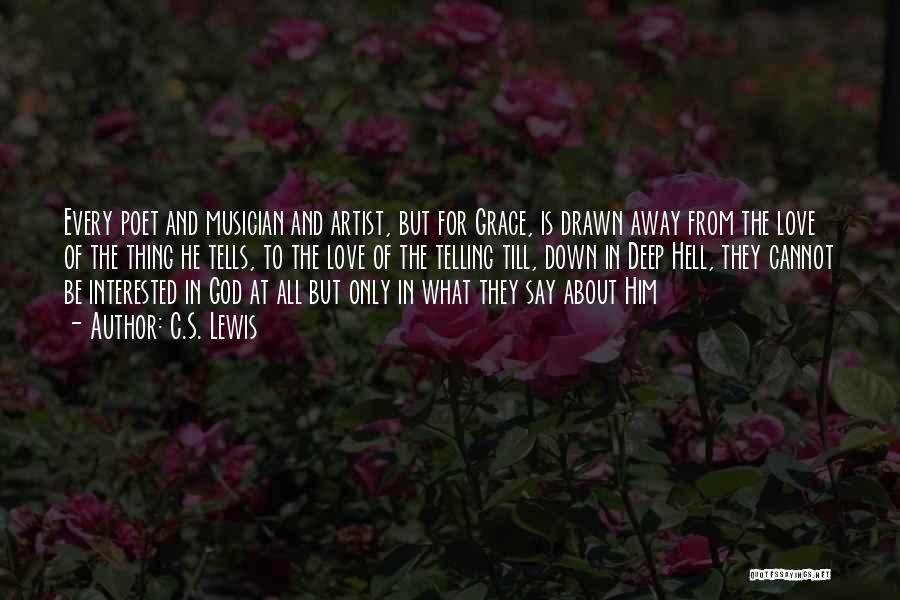 Hell Is Quotes By C.S. Lewis