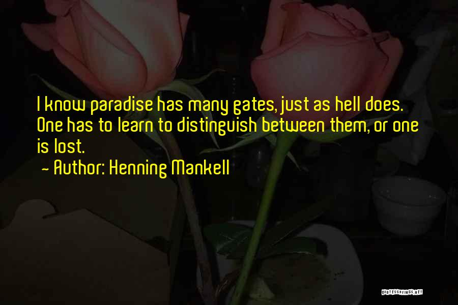 Hell Is Quotes By Henning Mankell