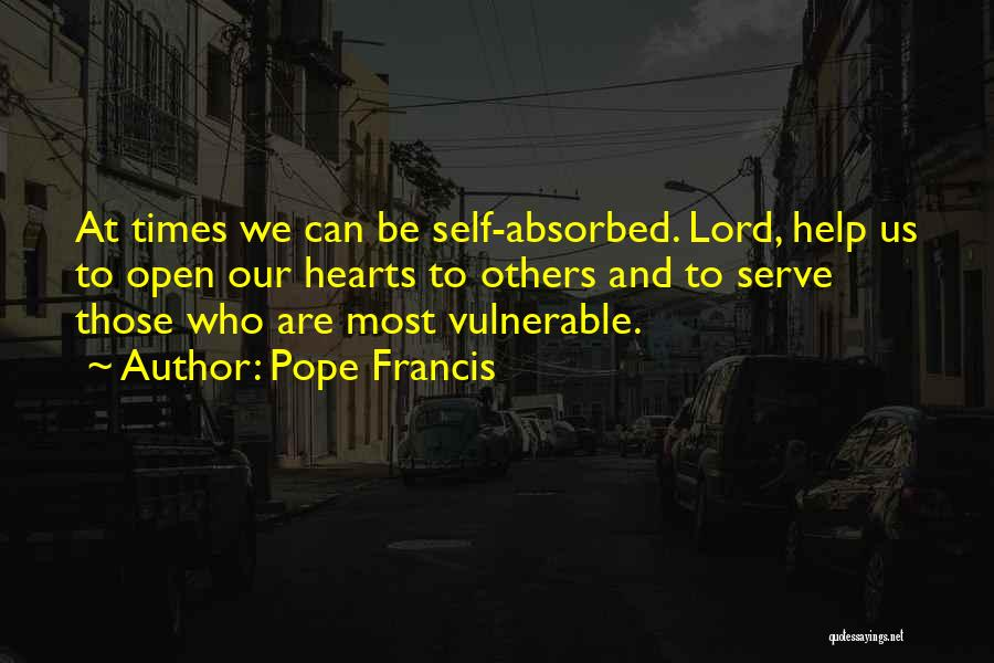 Help Me Oh Lord Quotes By Pope Francis