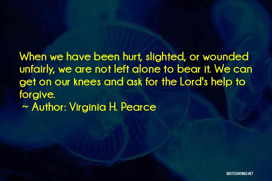 Help Me Oh Lord Quotes By Virginia H. Pearce