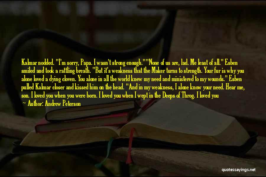 Help Me To Understand Quotes By Andrew Peterson