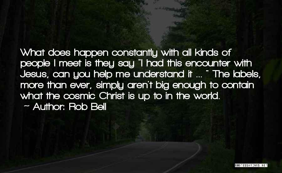 Help Me To Understand Quotes By Rob Bell