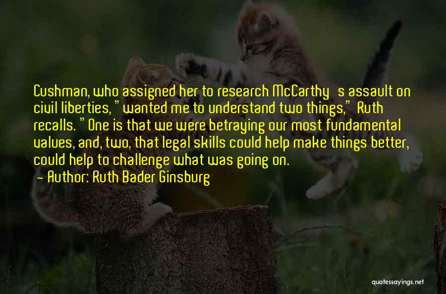 Help Me To Understand Quotes By Ruth Bader Ginsburg