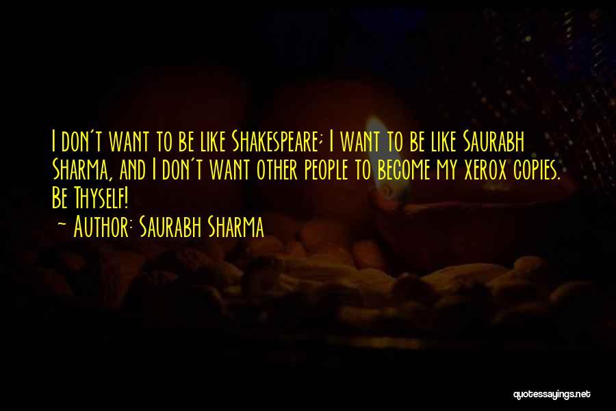Help Thyself Quotes By Saurabh Sharma