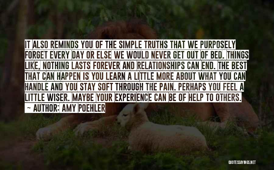 Help To Others Quotes By Amy Poehler