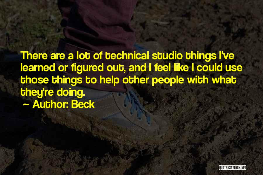 Help To Others Quotes By Beck