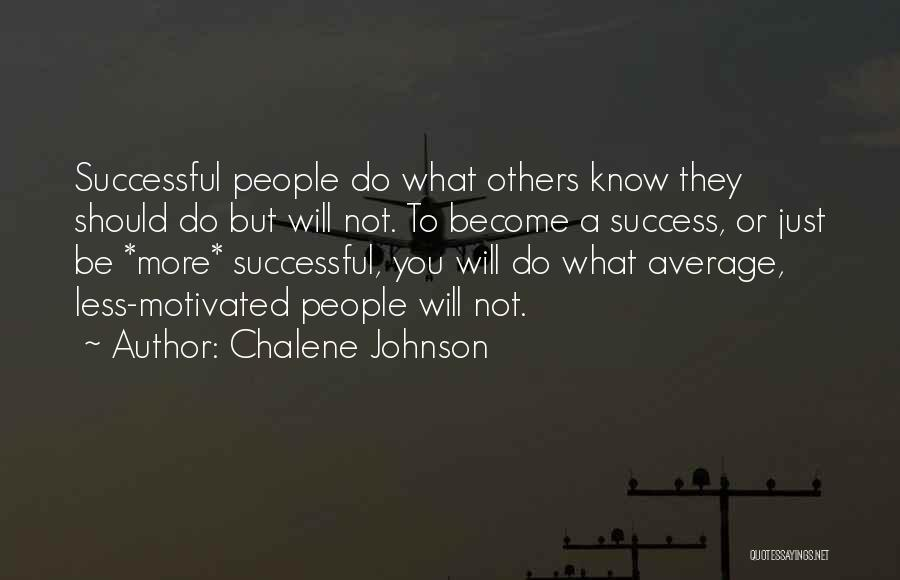 Help To Others Quotes By Chalene Johnson