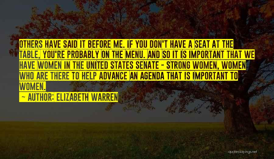 Help To Others Quotes By Elizabeth Warren
