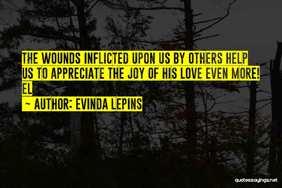 Help To Others Quotes By Evinda Lepins