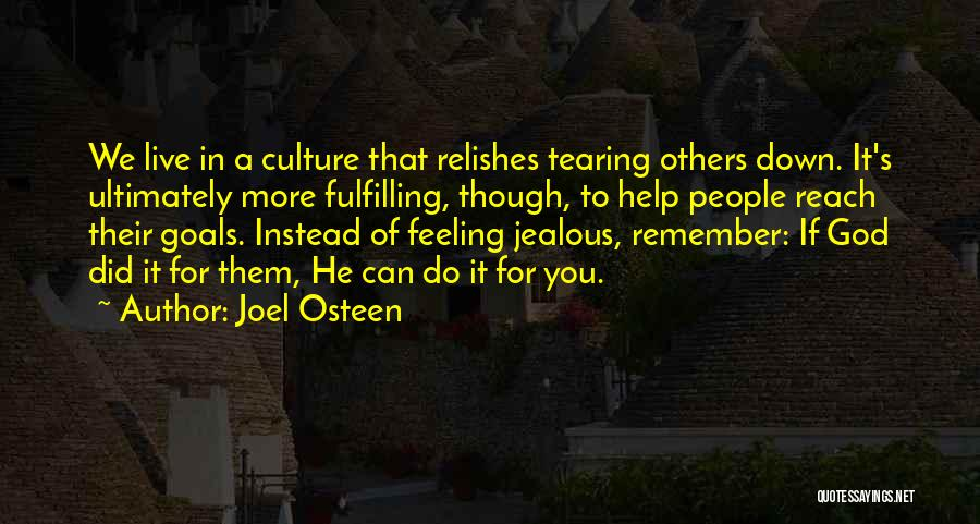 Help To Others Quotes By Joel Osteen
