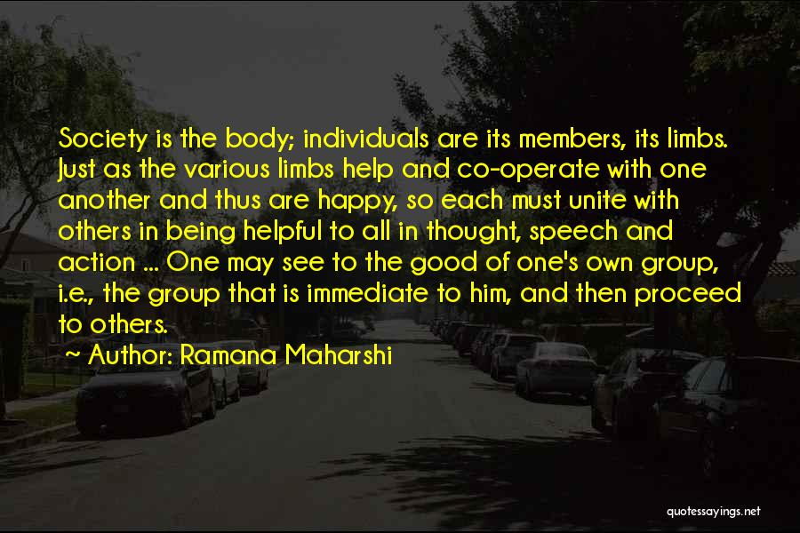 Help To Others Quotes By Ramana Maharshi