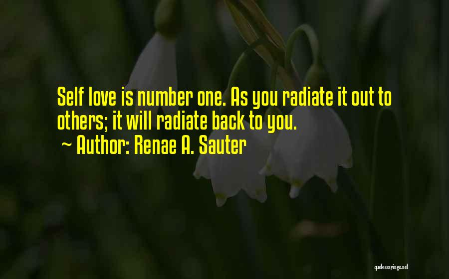 Help To Others Quotes By Renae A. Sauter