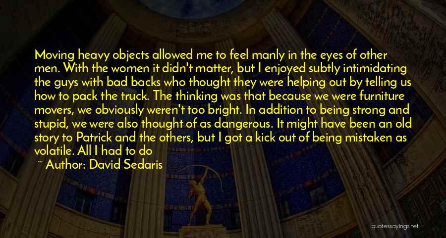 Helping Customer Quotes By David Sedaris