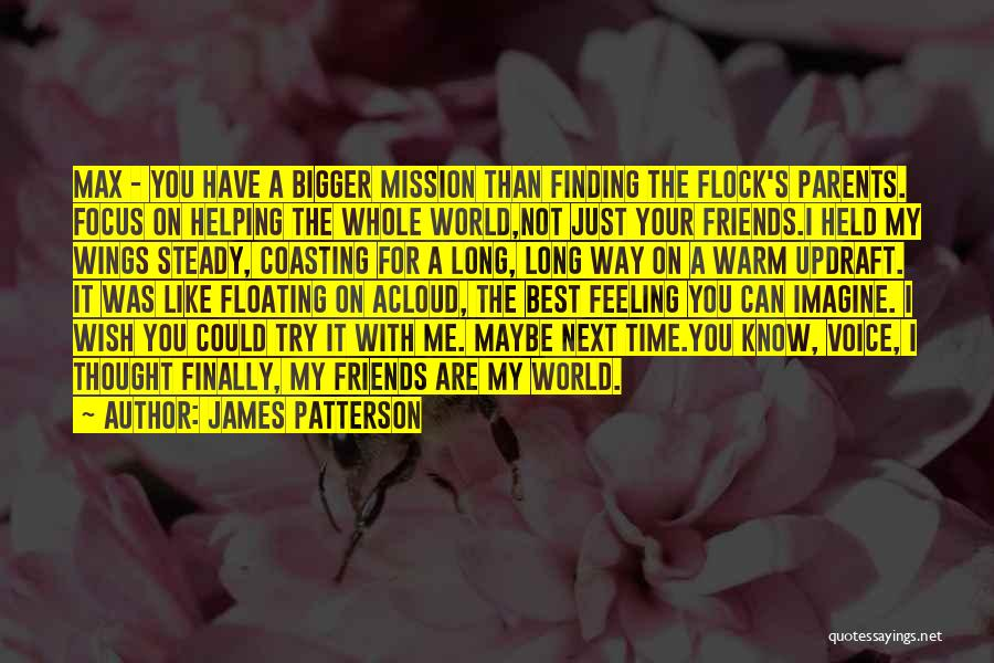 Helping Your Parents Quotes By James Patterson