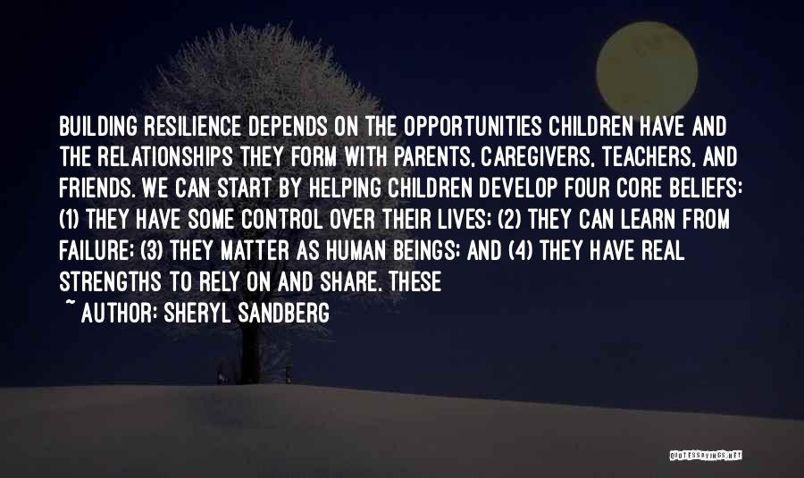 Helping Your Parents Quotes By Sheryl Sandberg