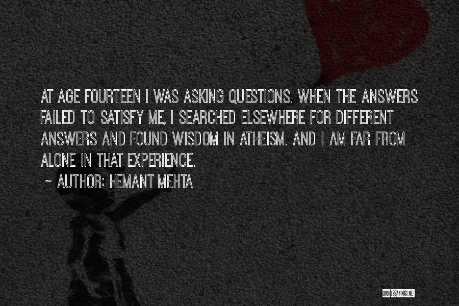 Hemant Mehta Quotes 1515293