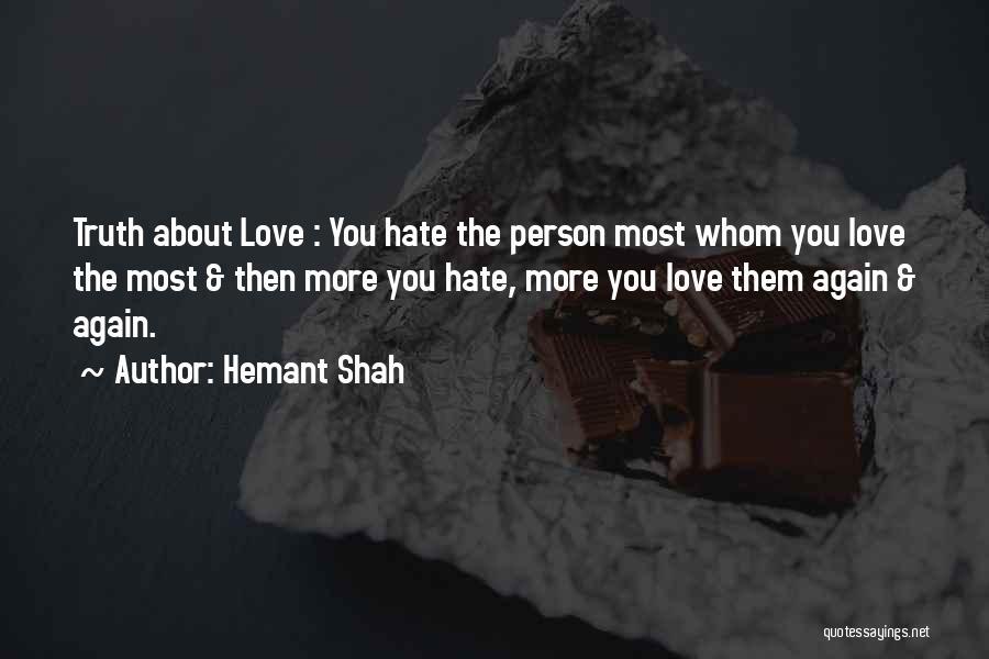 Hemant Shah Quotes 1366092