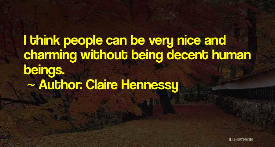 Hennessy Quotes By Claire Hennessy