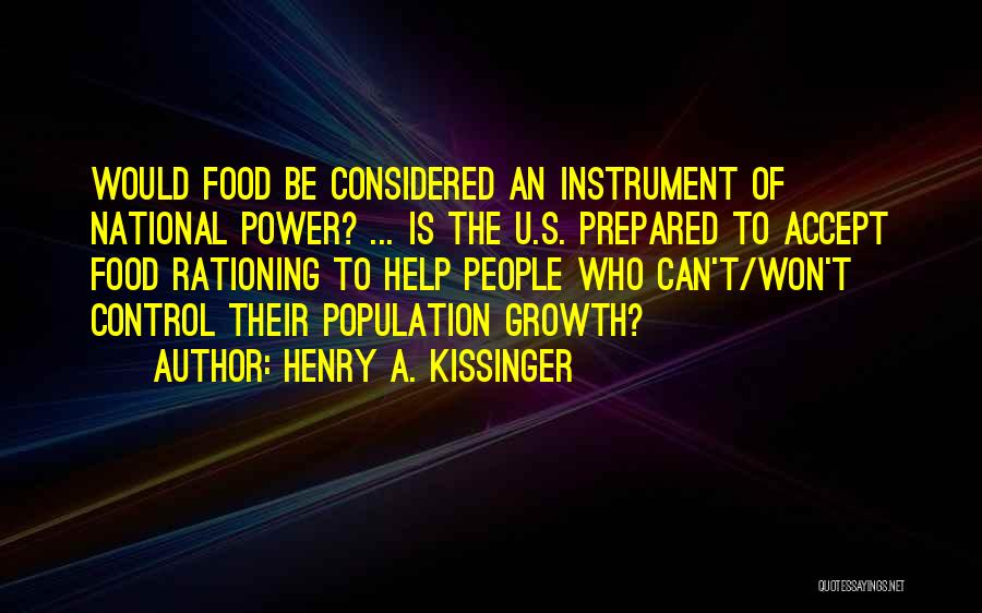 Henry A. Kissinger Quotes 1168945
